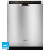 Whirlpool Gold Series 24 In. Built In Dishwasher with Stainless Steel Tub