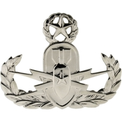 Army Badge, Regular Mirror Finish, Master Explosive Ordnance Disposal