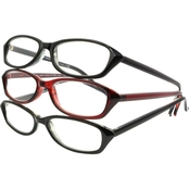 Foster Grant FG Multi-pack Ann 3-Pack Reading Glasses