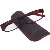 Foster Grant FG Reader Derick Reading Glasses with Case