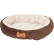 Petmate Aspen Pet Oval Bed with Bone Applique