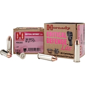 Hornady Critical Defense .38 Special 90 Gr. Flex Tip Hollow Point, 25 Rounds
