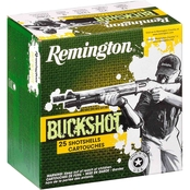 Remington Express 12 Ga. 00 Buckshot 2.75 in., 25 Rounds
