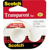 Scotch Transparent Tape in Hand Dispenser