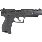 Walther P22QD 22 LR 5 in. Barrel 10 Rnd Pistol Black with Compensator