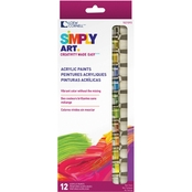Loew-Cornell Simply Art Acrylic Paint Tubes 12 ct.