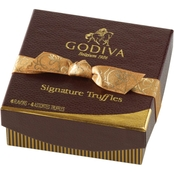 Godiva Signature Chocolate Truffle Box 4 pc.