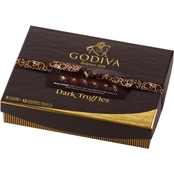 Godiva 12 pc. Gift Box Dark Chocolate Truffle