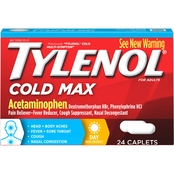 Tylenol Cold Max Daytime Caplets 24 Pk.