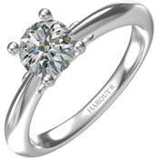 Harout R 14K White Gold 1 ct. Karen Solitaire Diamond Engagement Ring