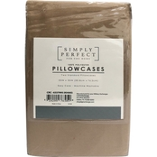Simply Perfect Microfiber Pillowcases 2 pk.