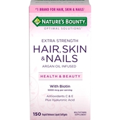 Nature's Bounty Optimal Solutions Hair, Skin and Nails Extra Strength 150 pk.