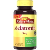 Nature Made Melatonin Maximum Strength 5 mg Tablets 90 Ct.