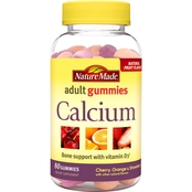 Nature Made Calcium Adult Gummies 80 Ct.