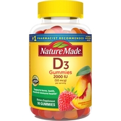 Nature Made Vitamin D3 Adult Gummies 90 Ct.