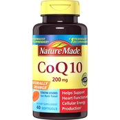 Nature Made CoQ10 200 Mg Softgels 40 Ct.