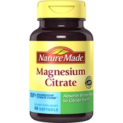 Nature Made Magnesium Citrate 250mg Softgels 60 ct.