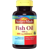 Nature Made Fish Oil 1000 mg Liquid Softgels 90 Ct.