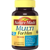 Nature Made Multivitamin for Him Tablets 90 Ct.