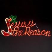Roman 20 in. Jesus is the Reason Holiday Lawn Decor