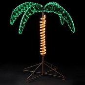 Roman 30 in. Rope Light Palm Tree
