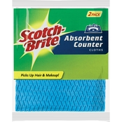Scotch-Brite Absorbent Counter Cloth 2 Pk.
