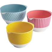 Cake Boss Countertop Accessories 3 pc. Mixing Bowl Set