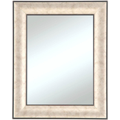 Alpine Art & Mirror Wall Mirror with Silver and Black Frame