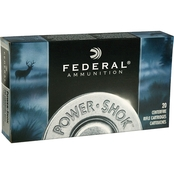 Federal PowerShok .223 Rem 64 Gr. Soft Point, 20 Rounds