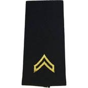 Army CPL Male Sew-On Rank