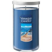Yankee Candle Turquoise Sky Medium Perfect Pillar Candle