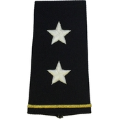 Army Shoulder Mark Officer Major General MG Large Male Slide-On