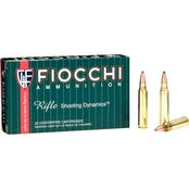 Fiocchi .223 Rem 77 Gr. Hollow Point Boat Tail Match King, 20 Rounds