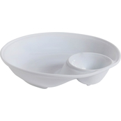 Gibson Elite Gracious Dining 12 In. Chip and Dip Server