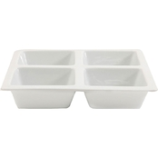 Gibson Elite Gracious Dining 4 Section 10 In. Tray