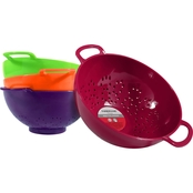 Farberware Mini Assorted Color Colanders