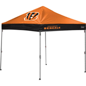 Jarden Sports Licensing NFL Cincinnati Bengals 10 x 10 ft. Straight Leg Canopy