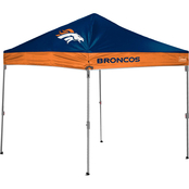 Jarden Sports Licensing NFL Denver Broncos 10 x 10 ft. Straight Leg Canopy