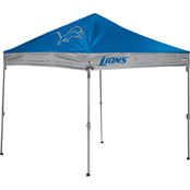 Jarden Sports Licensing NFL Detroit Lions 10 x 10 ft. Straight Leg Canopy