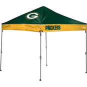 Jarden Sports Licensing NFL Green Bay Packers 10 x 10 ft. Straight Leg Canopy
