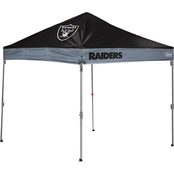 Jarden Sports Licensing NFL Oakland Raiders 10 x 10 ft. Straight Leg Canopy