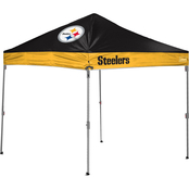 Jarden Sports Licensing NFL Pittsburgh Steelers 10 x 10 ft. Straight Leg Canopy