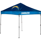 Jarden Sports Licensing NFL Los Angeles Chargers 10 x 10 ft. Straight Leg Canopy