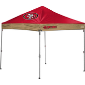 Jarden Sports Licensing NFL San Francisco 49ers 10 x 10 ft. Straight Leg Canopy