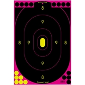 Birchwood Casey Shoot-N-C 12 x 18 In. Pink Silhouette Target, 5 Pk.