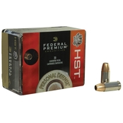 Federal Premium Personal Defense 9mm 124 Gr. HST Hollow Point, 20 Rounds