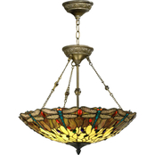 Dale Tiffany Dragonfly Inverted Light Fixture