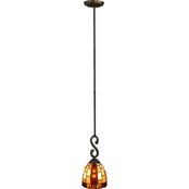 Dale Tiffany Baroque Mini Pendant Lamp
