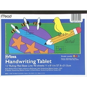 Mead Hytone Handwriting Tablet Grades 1, 2 & 3 40 ct.