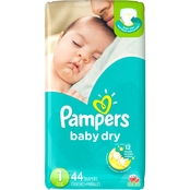 Pampers Baby Dry Diapers Size 1 (8-14 lb.)